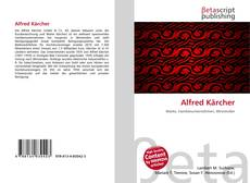 Buchcover von Alfred Kärcher