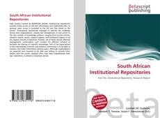 Bookcover of South African Institutional Repositories