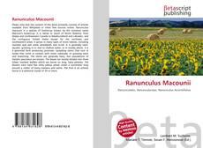 Buchcover von Ranunculus Macounii