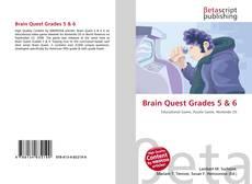 Couverture de Brain Quest Grades 5 & 6