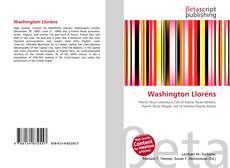 Washington Lloréns的封面