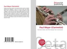 Обложка Paul Meyer (Clarinetist)