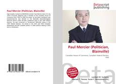 Buchcover von Paul Mercier (Politician, Blainville)