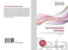 Bookcover of Paul Mendelssohn Bartholdy