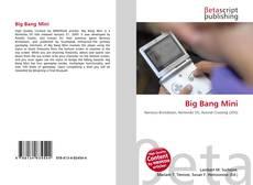 Capa do livro de Big Bang Mini