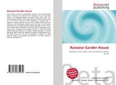 Обложка Ranzow-Sander House