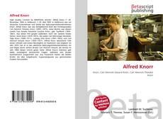 Buchcover von Alfred Knorr