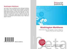 Bookcover of Washington Matthews