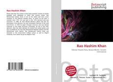 Capa do livro de Rao Hashim Khan