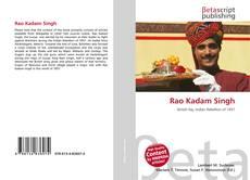 Couverture de Rao Kadam Singh