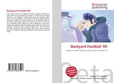 Bookcover of Backyard Football '09