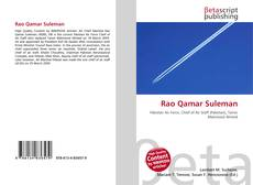 Bookcover of Rao Qamar Suleman