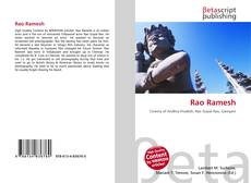 Bookcover of Rao Ramesh