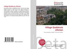 Обложка Village Québécois d'Antan