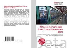 Couverture de Bahnstrecke Collonges-Fort-l'Ecluse-Divonne-les-Bains