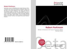 Bookcover of Robert Parkinson