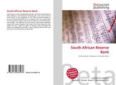Bookcover of South African Reserve Bank