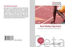 Portada del libro de Paul McKee (Sprinter)