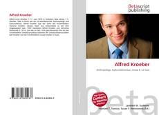 Bookcover of Alfred Kroeber