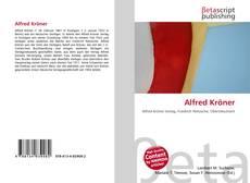 Buchcover von Alfred Kröner