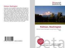 Bookcover of Pullman, Washington