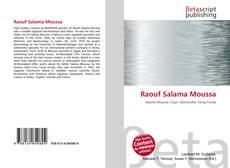 Обложка Raouf Salama Moussa