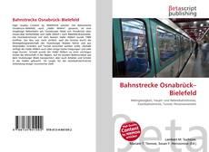 Buchcover von Bahnstrecke Osnabrück–Bielefeld