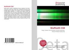 Buchcover von Wulfnoth Cild