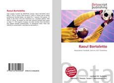 Portada del libro de Raoul Bortoletto