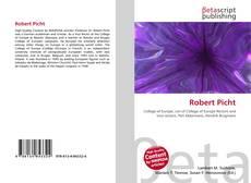Portada del libro de Robert Picht