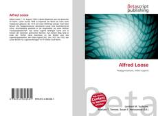 Bookcover of Alfred Loose