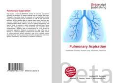 Bookcover of Pulmonary Aspiration