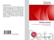 Portada del libro de Alfred Luhmer