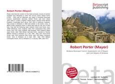 Robert Porter (Mayor)的封面