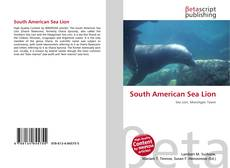 Bookcover of South American Sea Lion