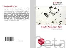 Buchcover von South American Tern