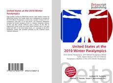 United States at the 2010 Winter Paralympics kitap kapağı