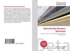 Buchcover von Bahnstrecke Bremen-Hannover