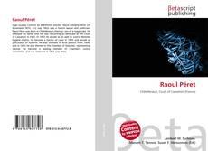 Portada del libro de Raoul Péret