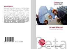Capa do livro de Alfred Messel