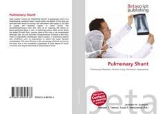 Bookcover of Pulmonary Shunt