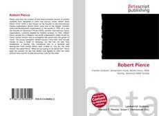 Bookcover of Robert Pierce