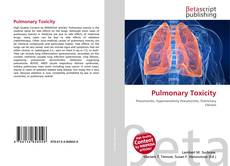 Bookcover of Pulmonary Toxicity