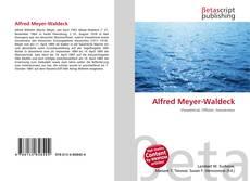 Buchcover von Alfred Meyer-Waldeck