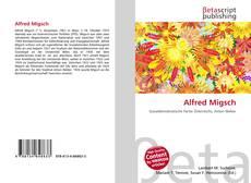 Buchcover von Alfred Migsch