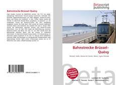 Buchcover von Bahnstrecke Brüssel–Quévy