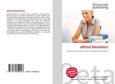 Bookcover of Alfred Mombert
