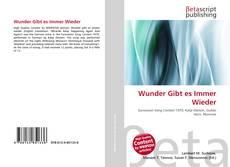 Wunder Gibt es Immer Wieder kitap kapağı