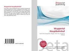 Обложка Wuppertal Hauptbahnhof