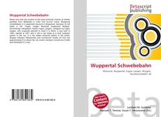 Обложка Wuppertal Schwebebahn